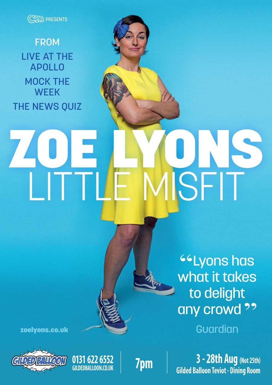 Zoe Lyons EdFringe 2016